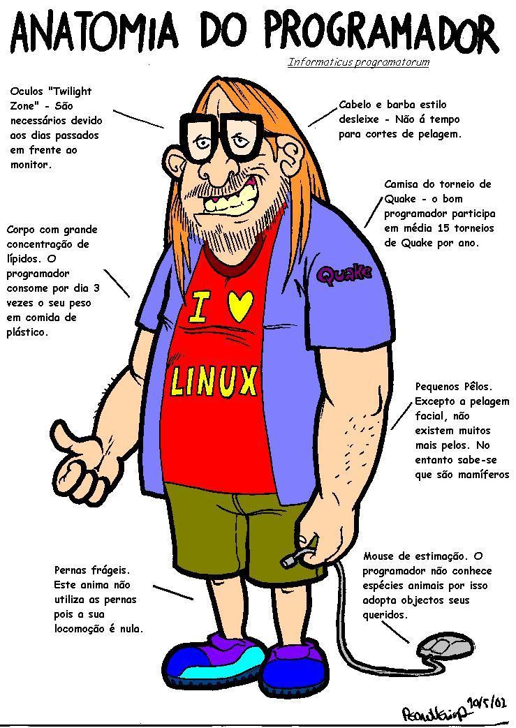 [Distraçao] Piadas de Programador :D Programador