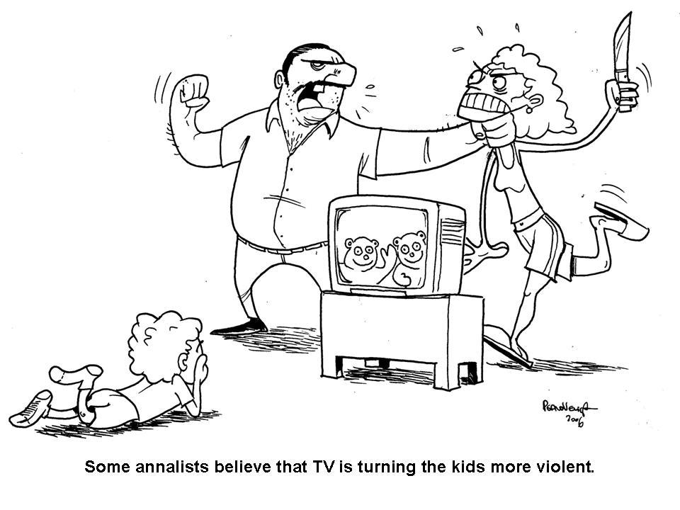 outline tv violence and children Outline for: video game violence stop/minimize the influence of violence in youths movies, tv research paper on video game violence and children.
